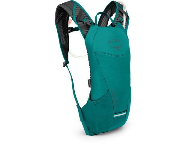 Osprey Kitsuma 3 Plecak z systemem nawadniającym Kobiety, teal reef